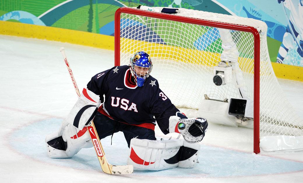 Featuring Usa Women S Hockey Goaltender Jessie Vetter Fempower Q A S